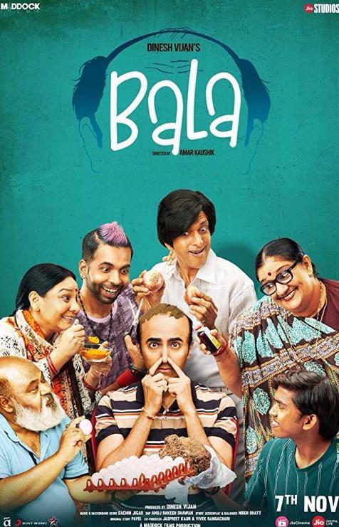 Bala (2019) Hindi PreCAM Rip 1CD x264 AAC 700MB-CV
