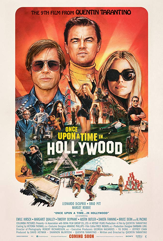 Once Upon a Time in Hollywood 2019 720p BluRay x264-NeZu