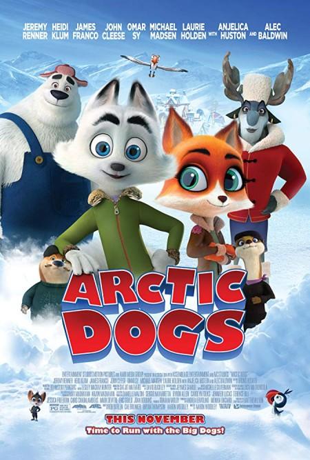 Arctic Dogs (2019) 1080p NF WEB  DL H264 AC3  EVO