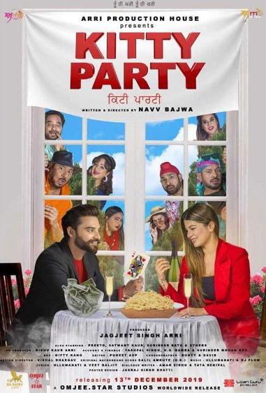Kitty Party (2019) Punjabi 480p Pre-CAMRip x264-DLW