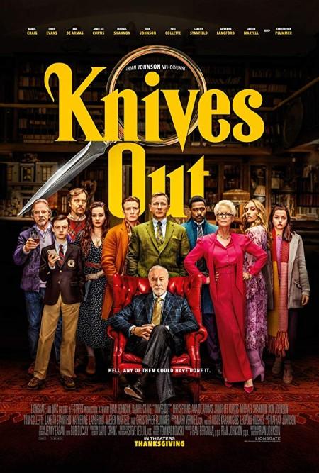 Knives Out (2019) HDRip AC3 x264-CMRG