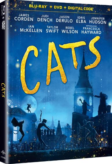 Cats (2019) 1080p WEB-DL H264 AC3-EVO
