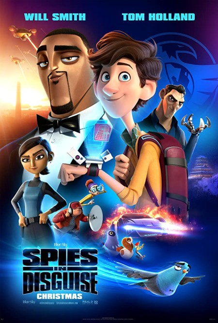 Spies in Disguise (2019) 1080p 5 1 - 2 0 x264 Phun Psyz