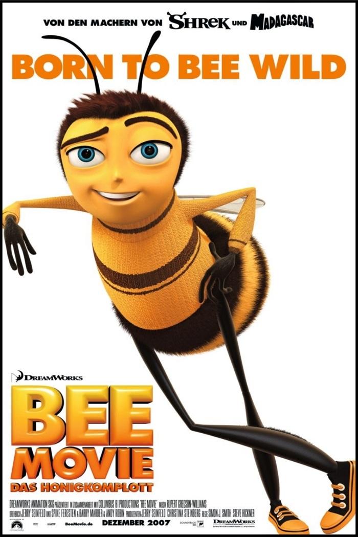 蜂電影/蜜蜂總動員/蜜蜂電影 Bee Movie (BD-MKV@粵國英/繁簡英)