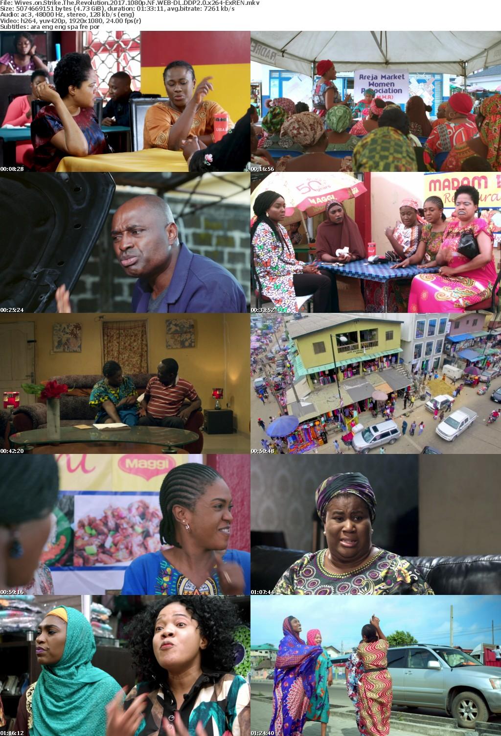 Wives on Strike The Revolution (2017) 1080p NF WEBRip DDP2.0 x264-EXREN