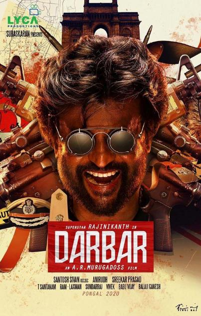 Darbar (2020) 720p UNCUT HDRip x264 Dual Audio Hindi ORG Tamil ESubs-DLW