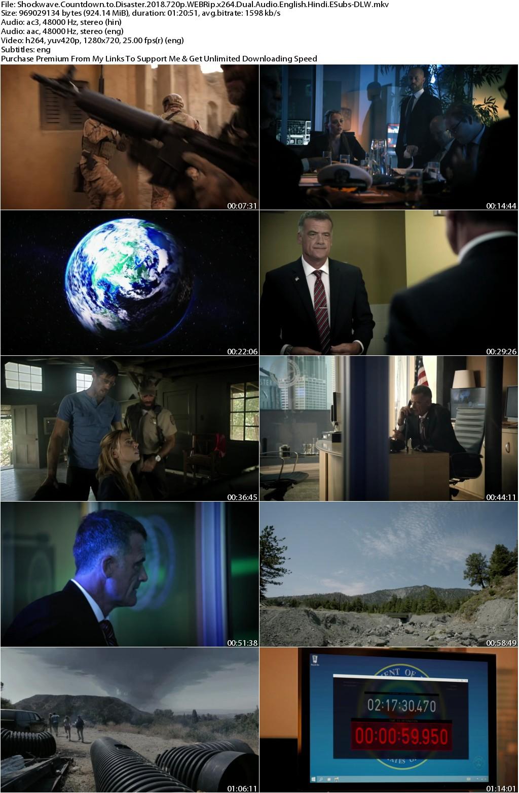 Shockwave Countdown to Disaster (2018) 720p WEBRip x264 Dual Audio English Hindi ESubs-DLW