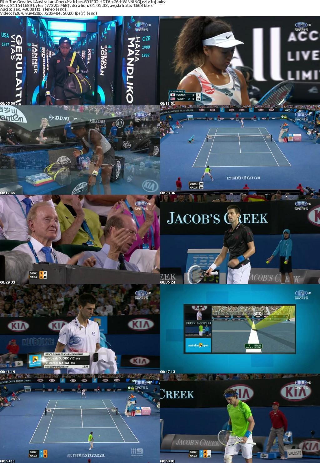 The Greatest Australian Open Matches S01E02 HDTV x264-WiNNiNG