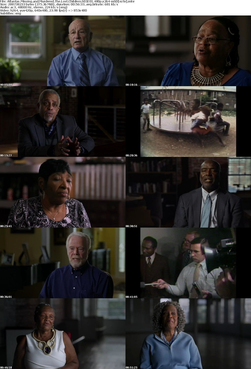 Atlantas Missing and Murdered The Lost Children S01E01 480p x264-mSD