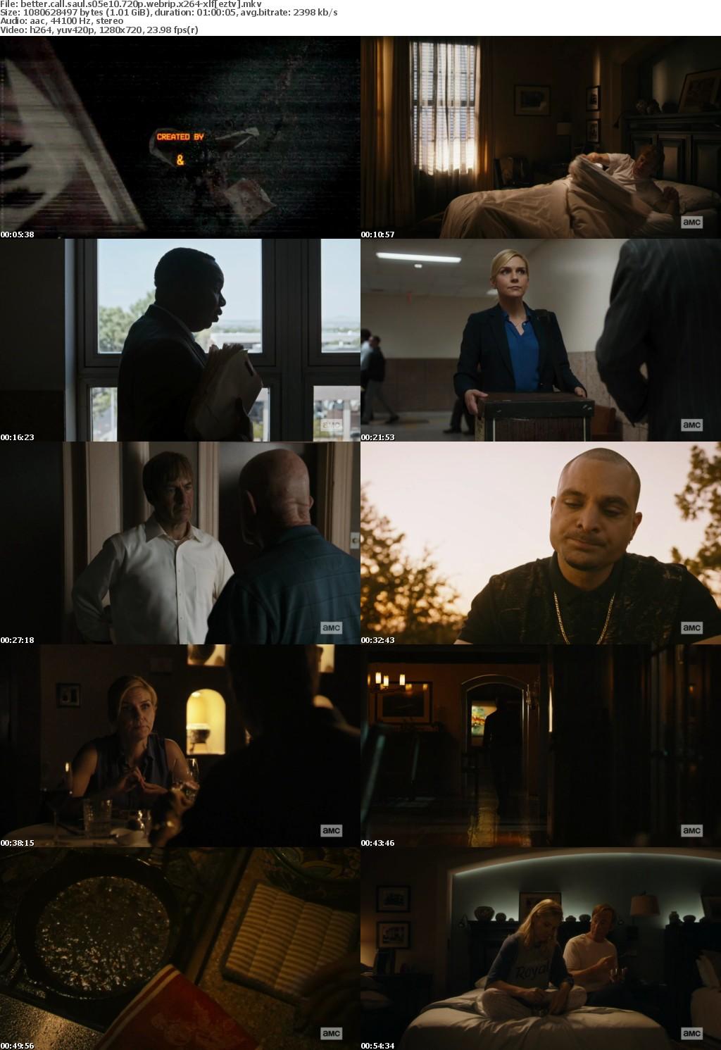 Better Call Saul S05E10 720p WEBRip x264-XLF