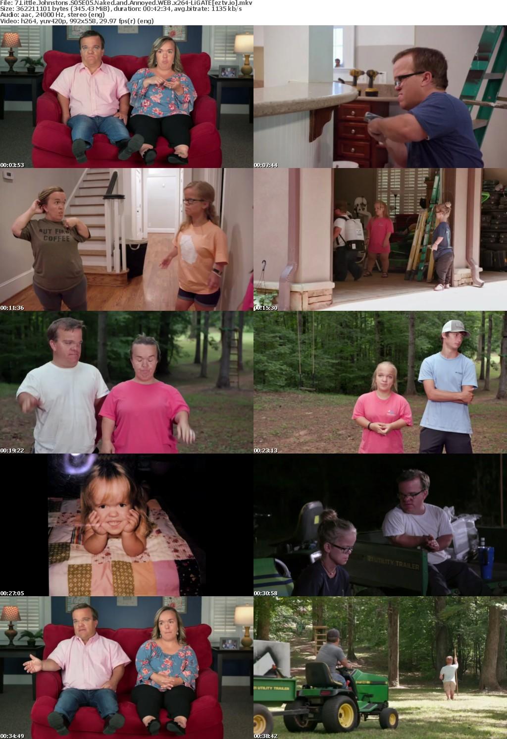 7 Little Johnstons S05E05 Naked and Annoyed WEB x264-LiGATE