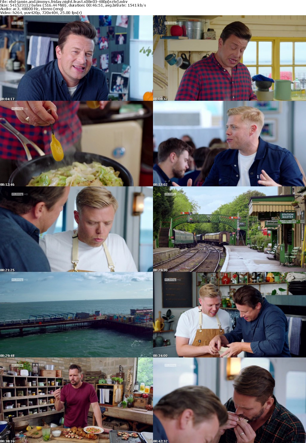 Jamie And Jimmys Friday Night Feast S08E03 HDTV x264-EHD