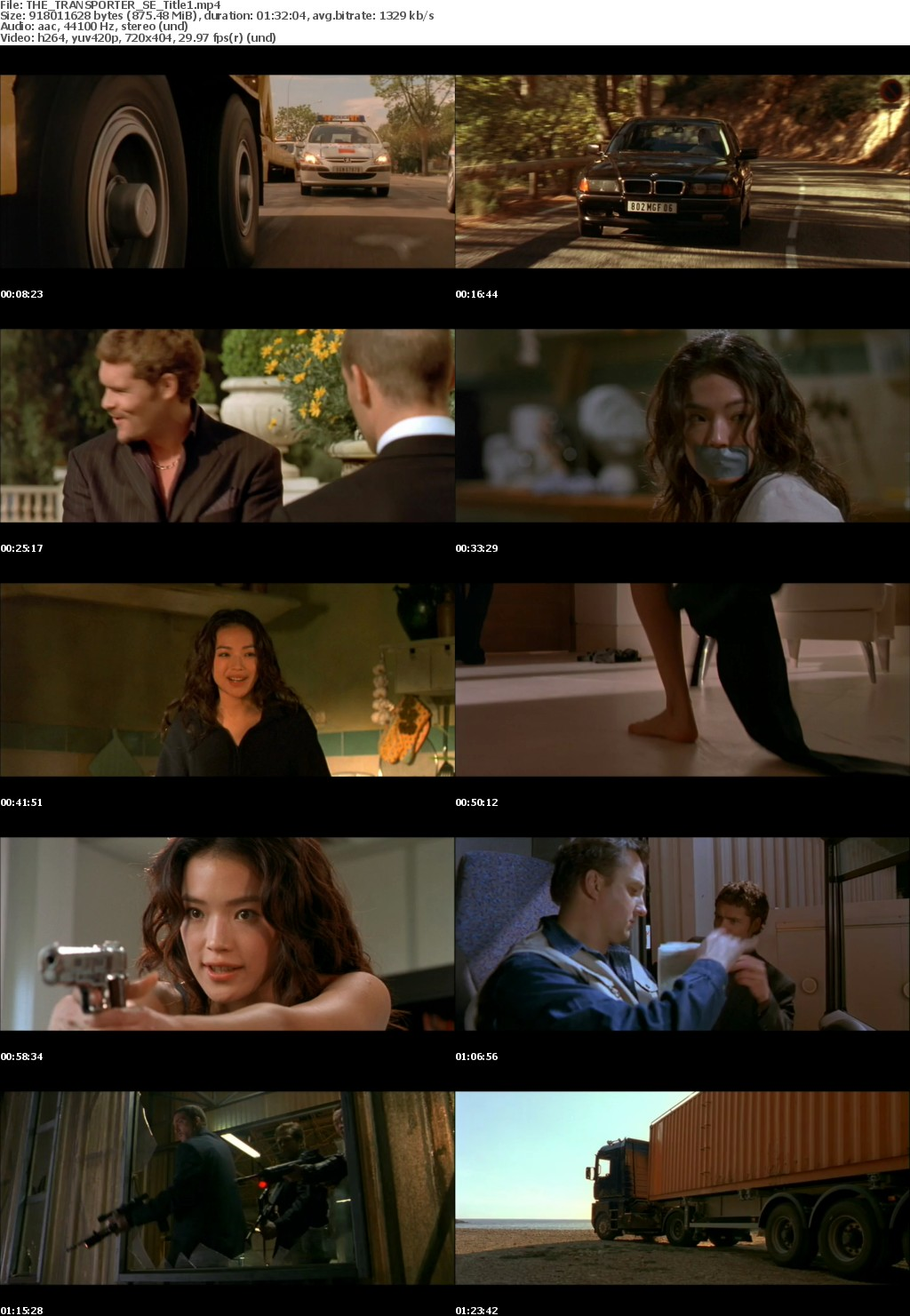 The Transporter (2002)Mp-4 X264 Dvd-Rip 480p AACDSD