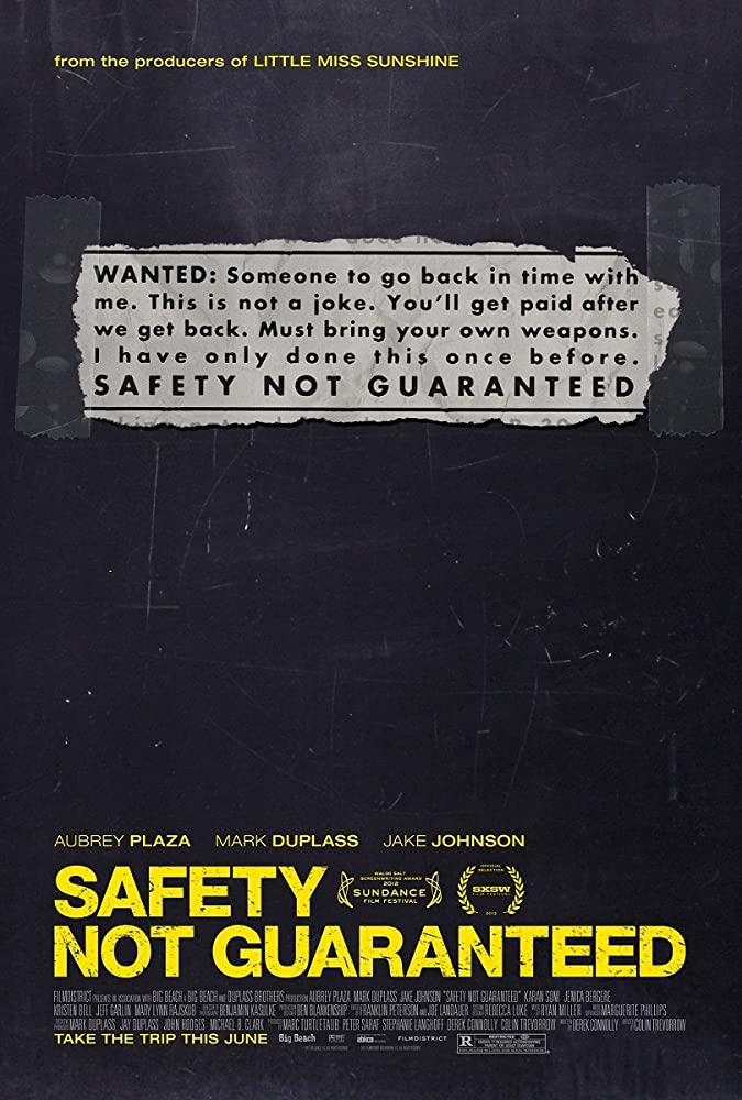 Safety Not Guaranteed 2012 1080p BluRay x265-RARBG