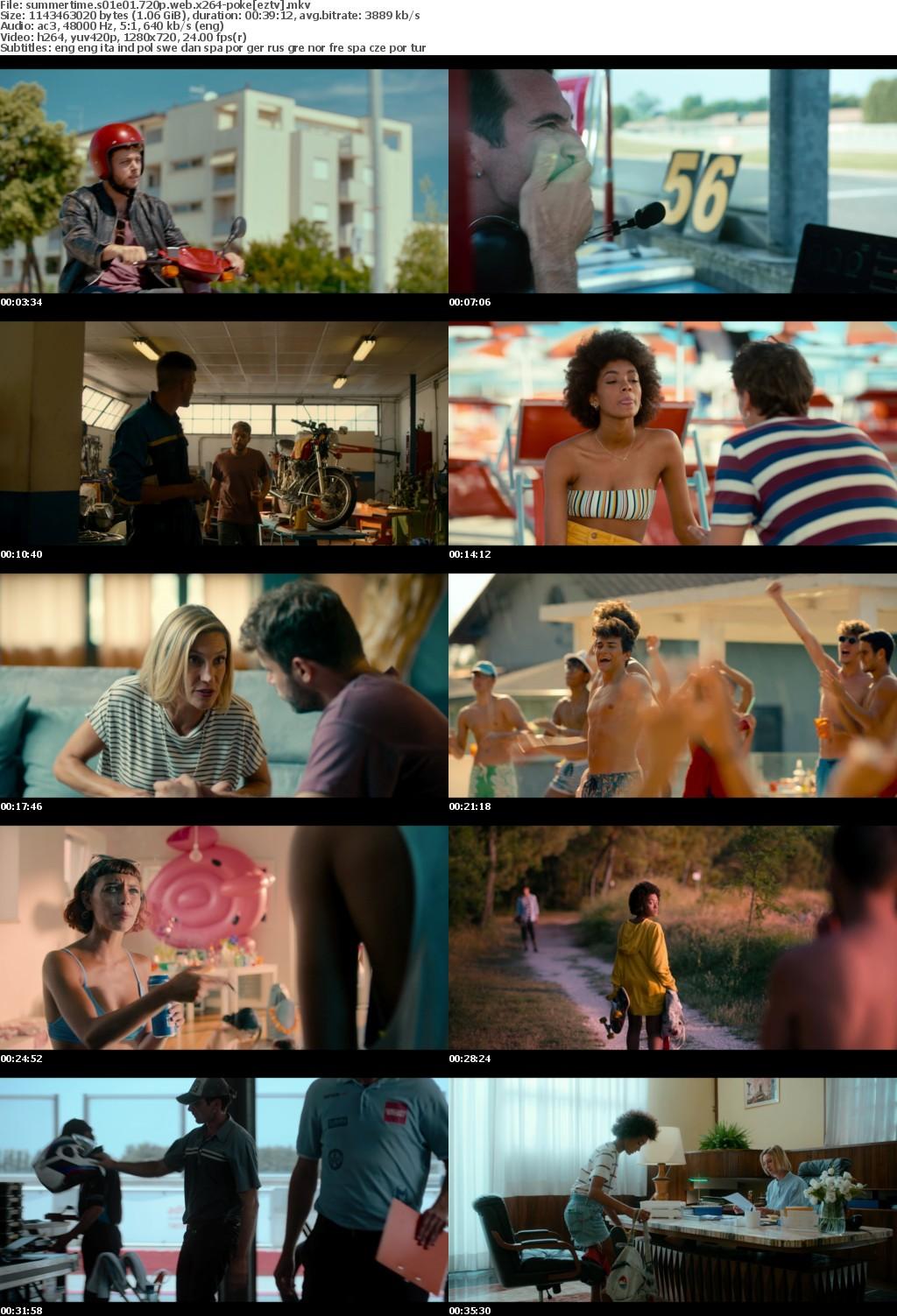 Summertime S01E01 720P WEB X264-POKE
