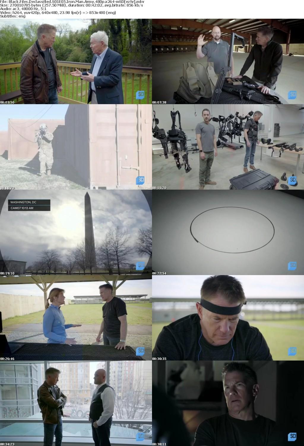 Black Files Declassified S01E05 Iron Man Army 480p x264-mSD