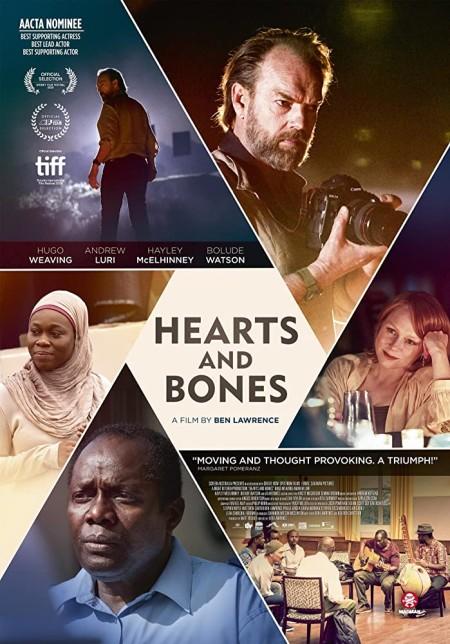 Hearts And Bones (2019) 720p WEBRip 800MB x264  GalaxyRG