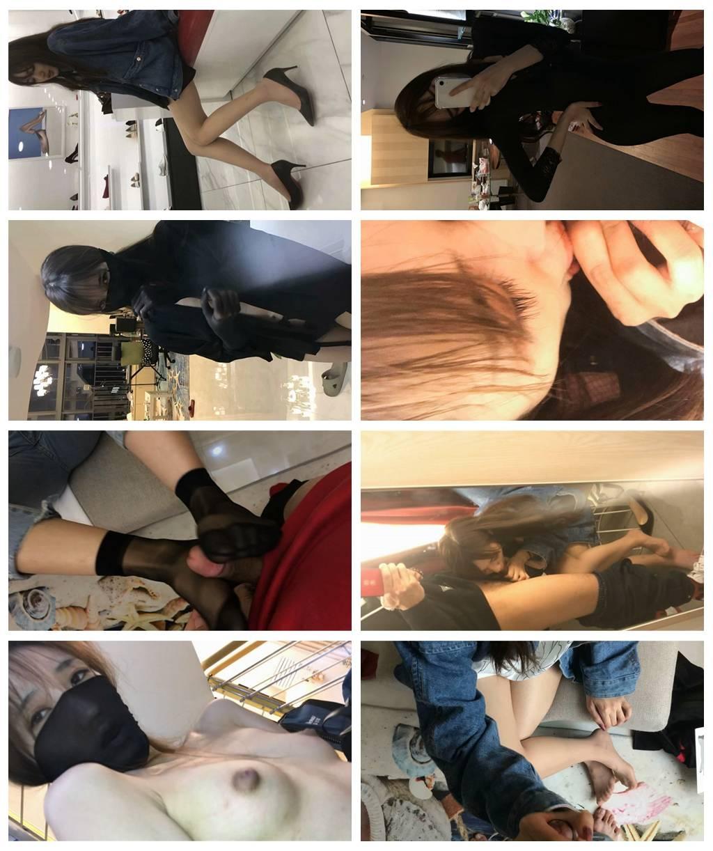 【線上x20】最新『優衣庫』情侶性愛完整版私拍外流~絲足啪啪~試衣間偷操~戶外跪舔~完美露臉