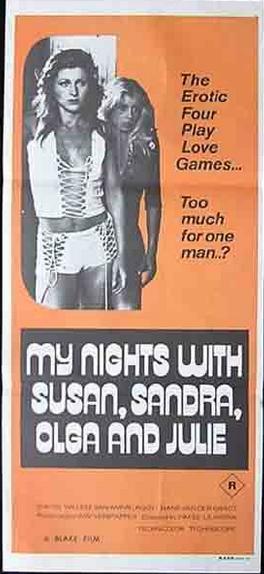 My Nights with Susan, Sandra, Olga & Julie (1975) [720p] [BluRay] [YTS MX]