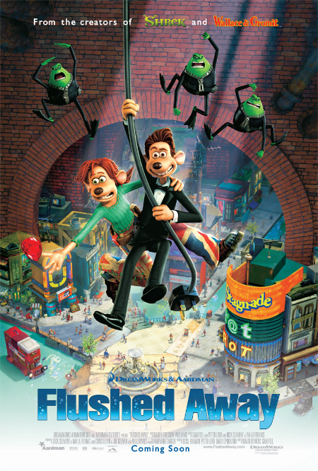 Flushed Away 2006 1080p BluRay x265-RARBG