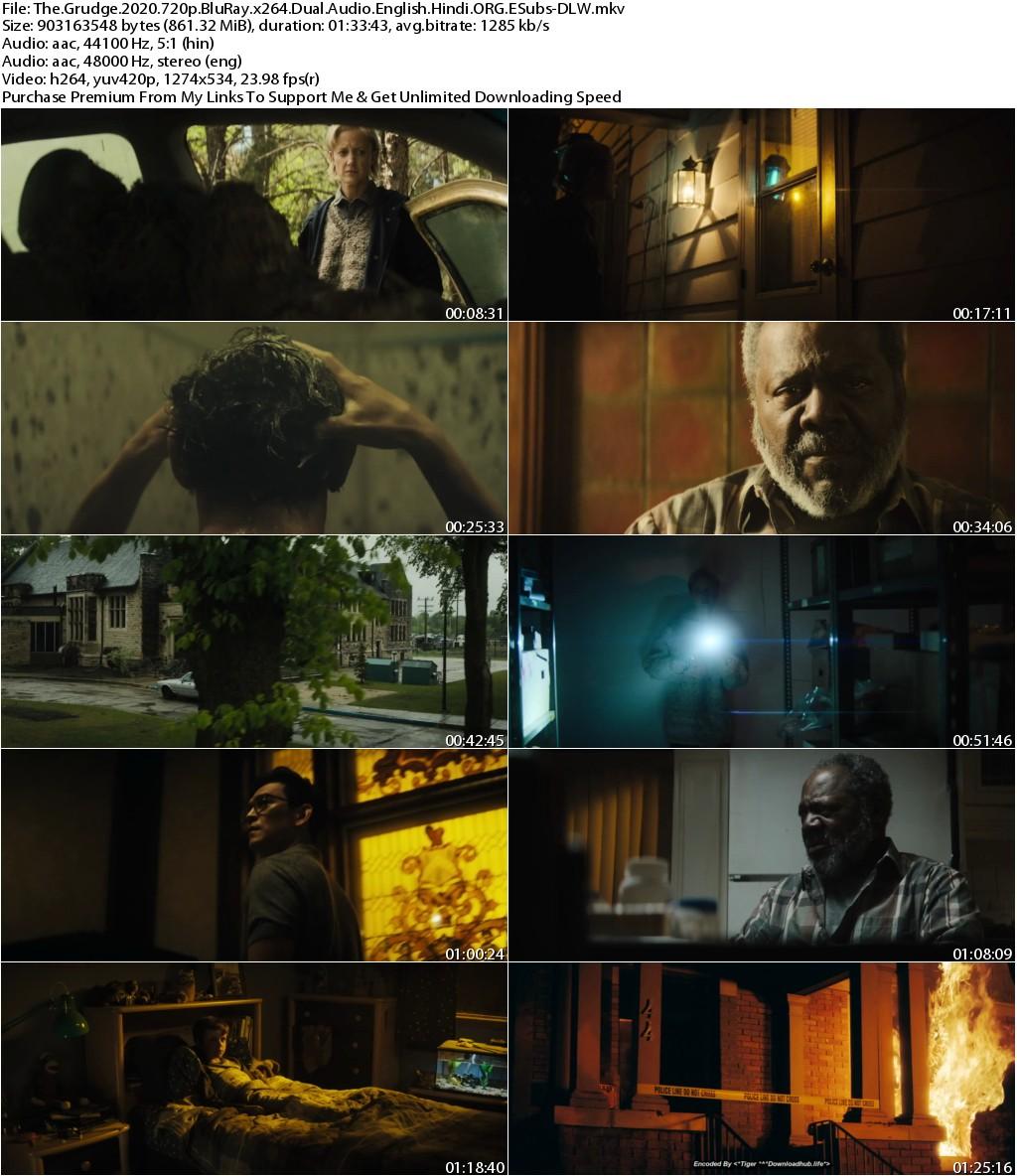 The Grudge (2020) 720p BluRay x264 Dual Audio English Hindi ORG ESubs-DLW