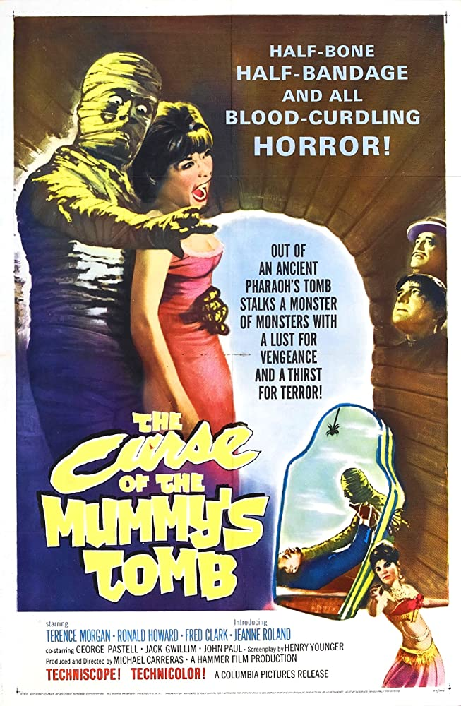The Curse of the Mummy's Tomb (1964) [720p] [BluRay] [YTS MX]