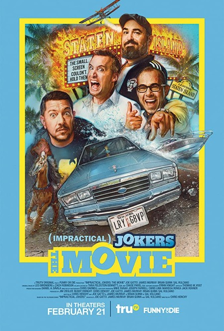 Impractical Jokers The Movie (2020) BDRip XviD AC3-EVO