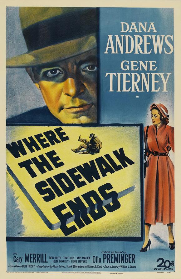 Where the Sidewalk Ends (1950) [720p] [BluRay] [YTS MX]