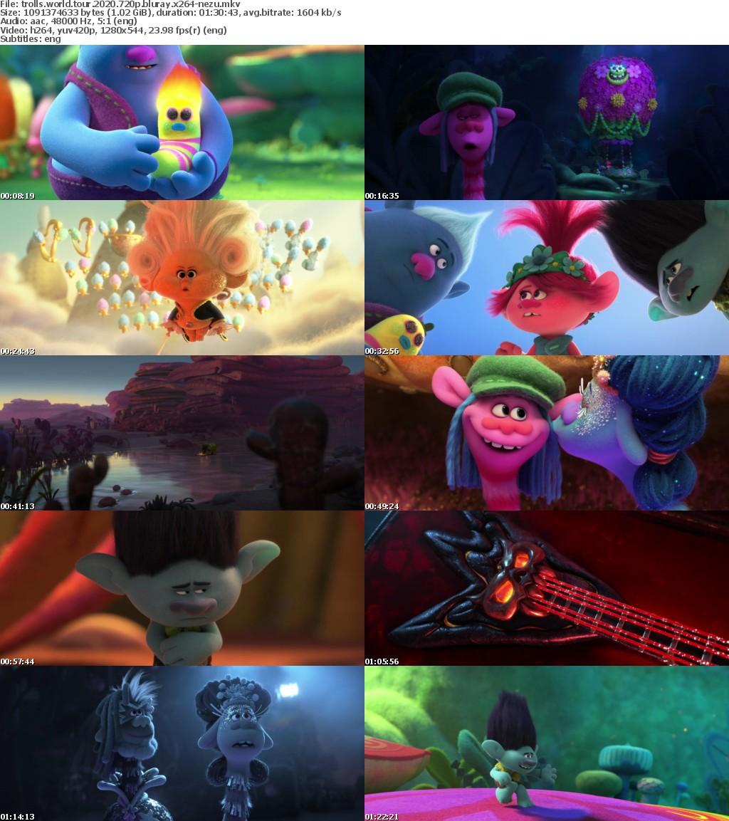 Trolls World Tour (2020) 720p BluRay x264-NeZu