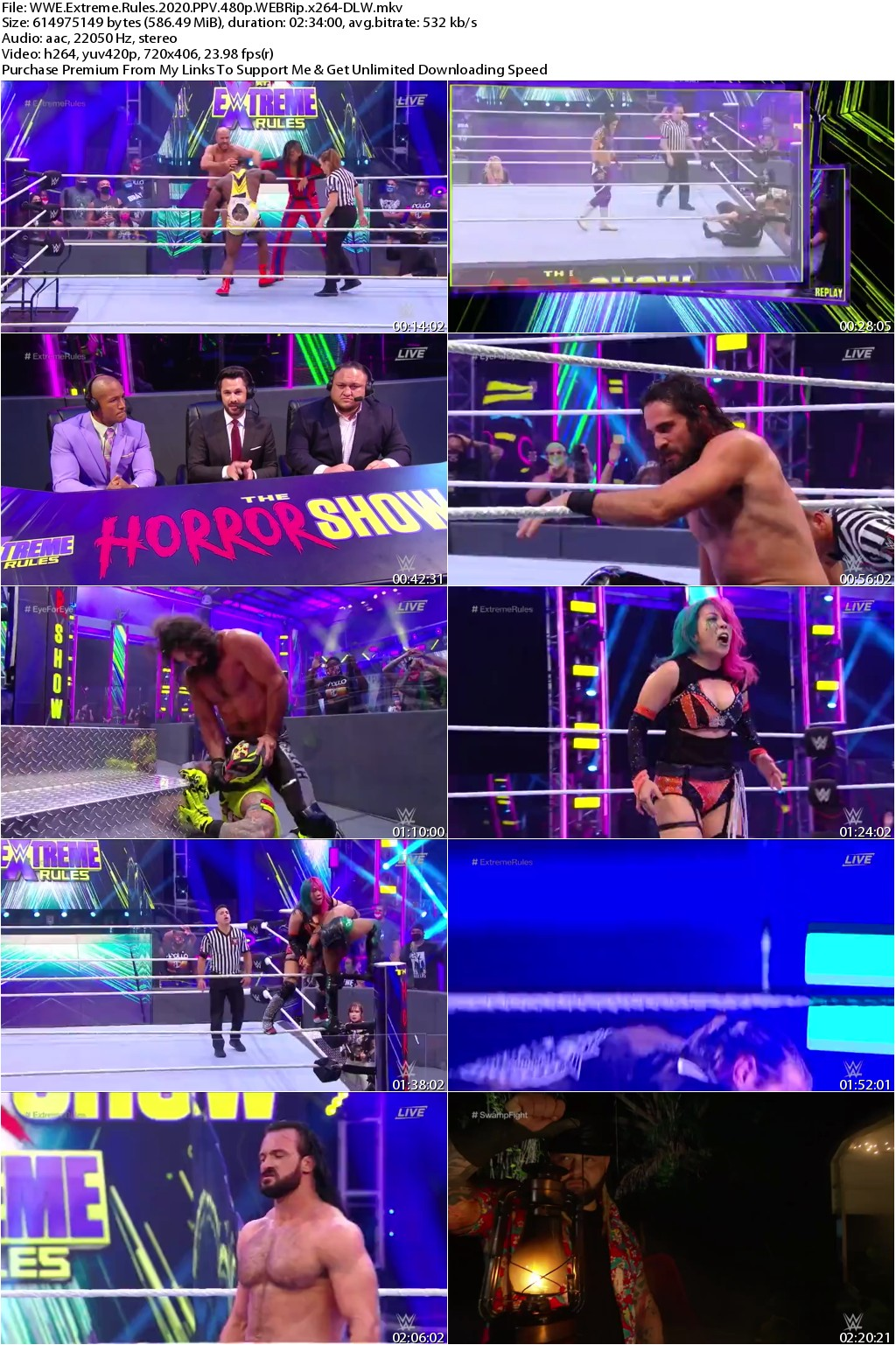 WWE Extreme Rules 2020 PPV 480p WEBRip x264-DLW