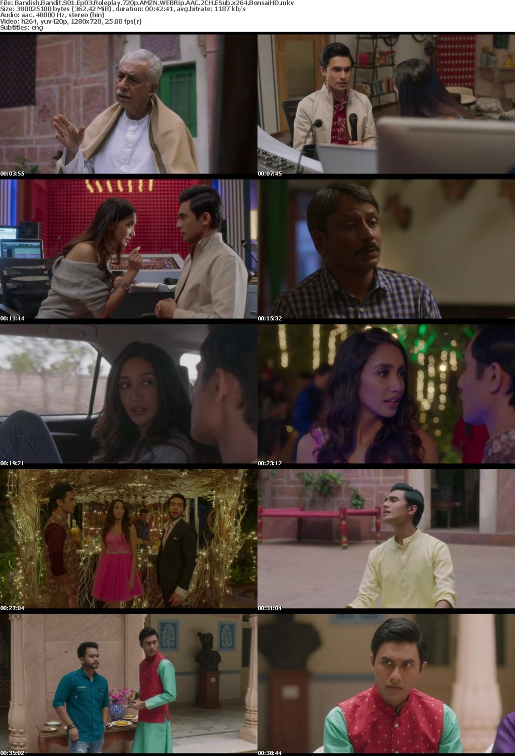 Bandish Bandits (2020) Hindi S01 Complete 720p AMZN WEBRip 3 2 GB AAC 2CH x264 - Shadow (BonsaiHD)