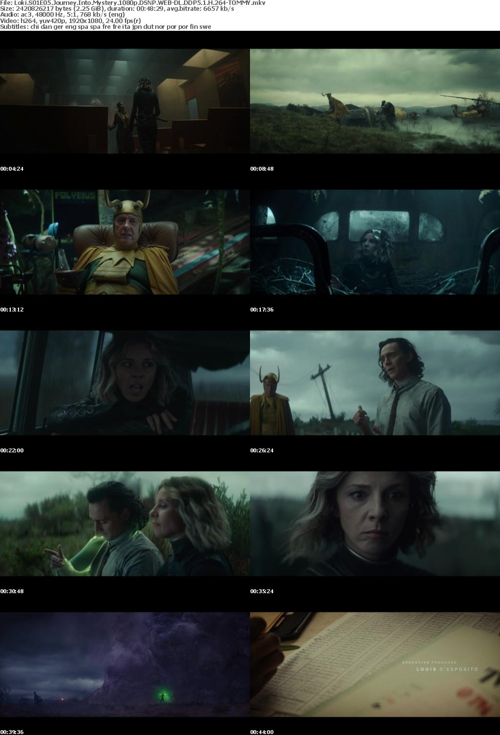 Loki S01E05 Journey Into Mystery 1080p DSNP WEBRip DDP5 1 x264-TOMMY
