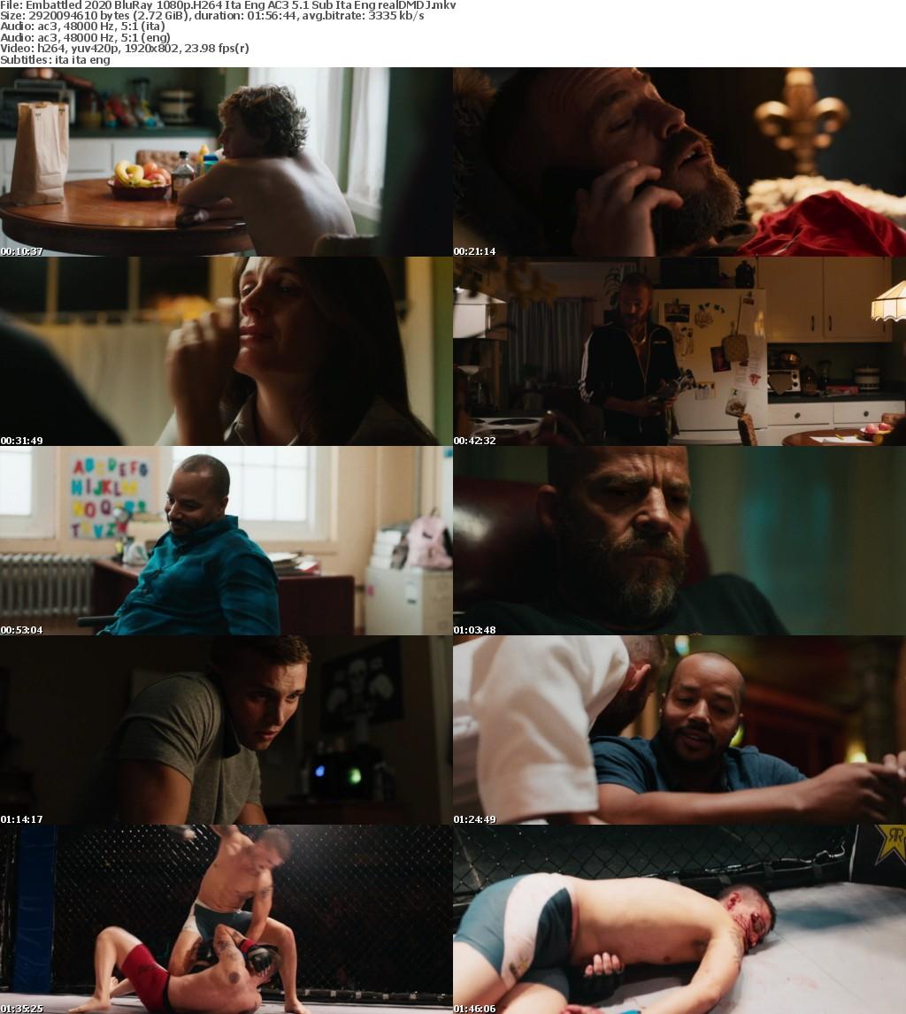 Embattled (2020) BluRay 1080p H264 Ita Eng AC3 5 1 Sub Ita Eng - realDMDJ