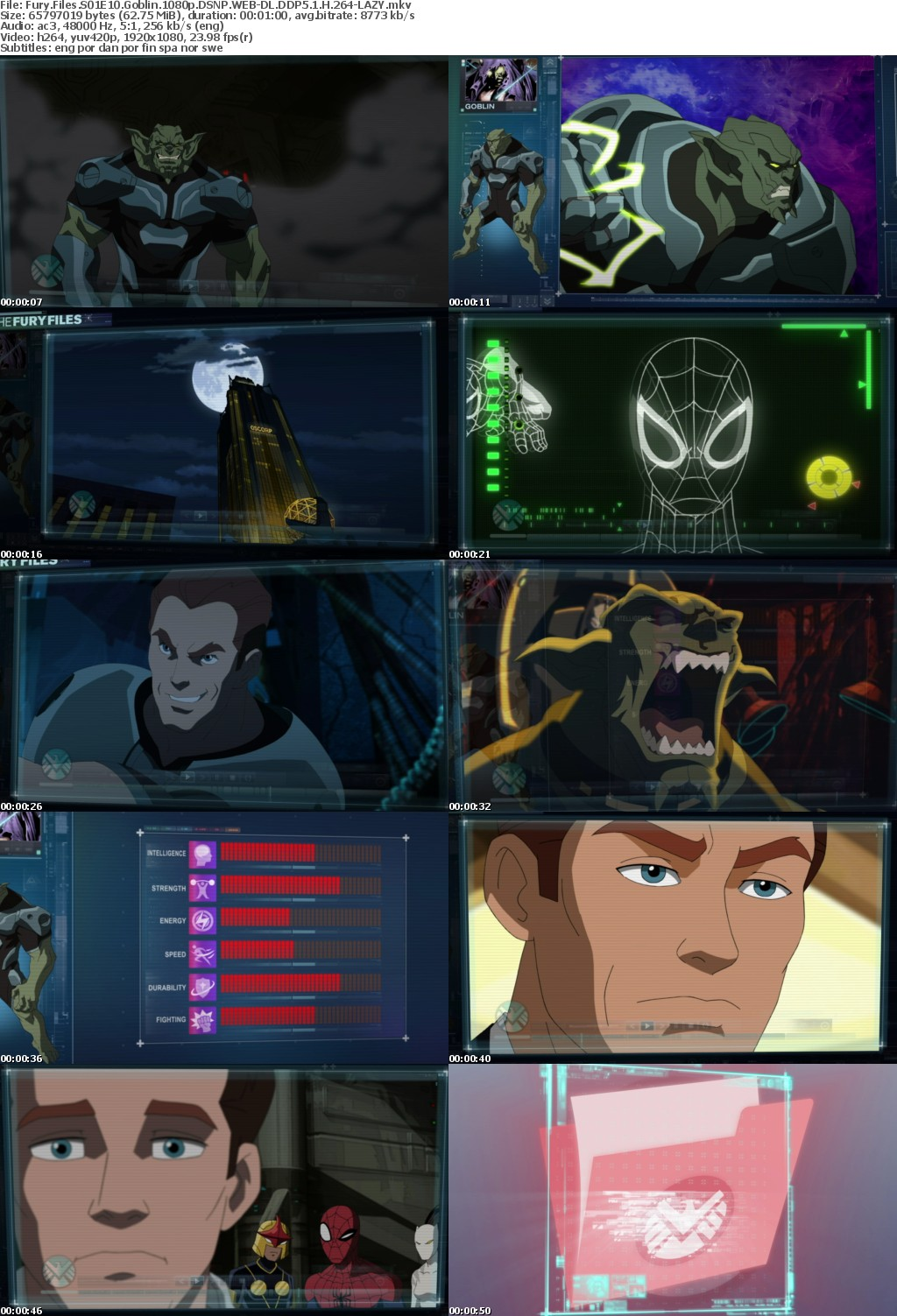 Fury Files S01 1080p DSNP WEBRip DDP5 1 x264-LAZY