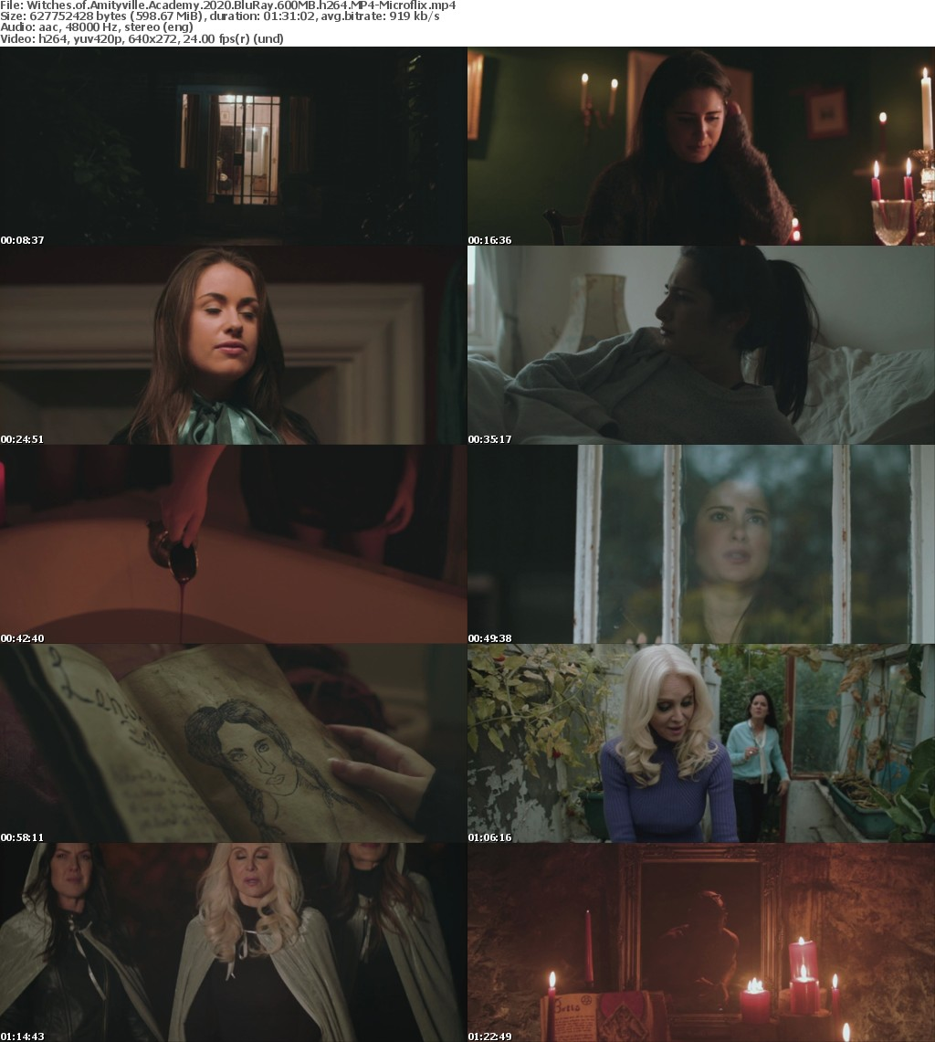 Witches of Amityville Academy 2020 BluRay 600MB h264 MP4-Microflix