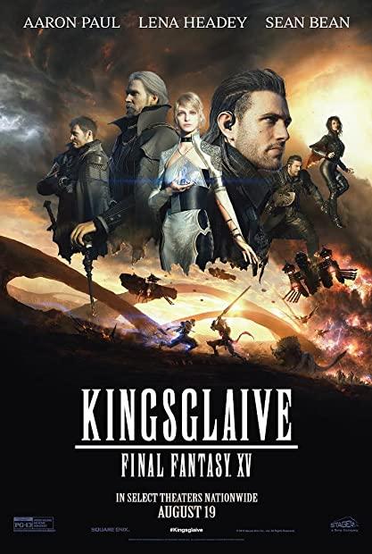 Final Fantasy Kingsglaive (2016) MULTI 1080p BluRay AV1 Opus AV1D (en, spanish, french, portugues, japanese, thai; subs: chinese, malay, indonesian)